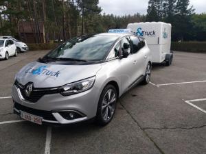 Renault aanhangwagen voorkant